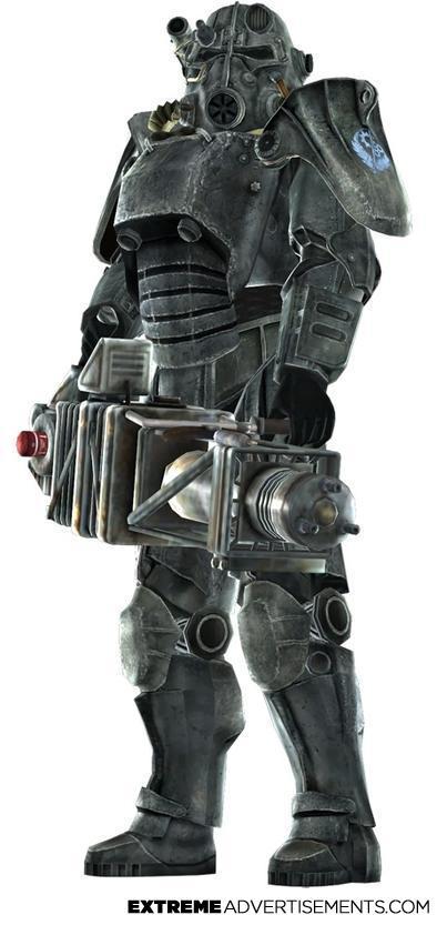 Brotherhood Of Steel Power Armor Extreme advertising - brotherhood of ... Unsc Propaganda