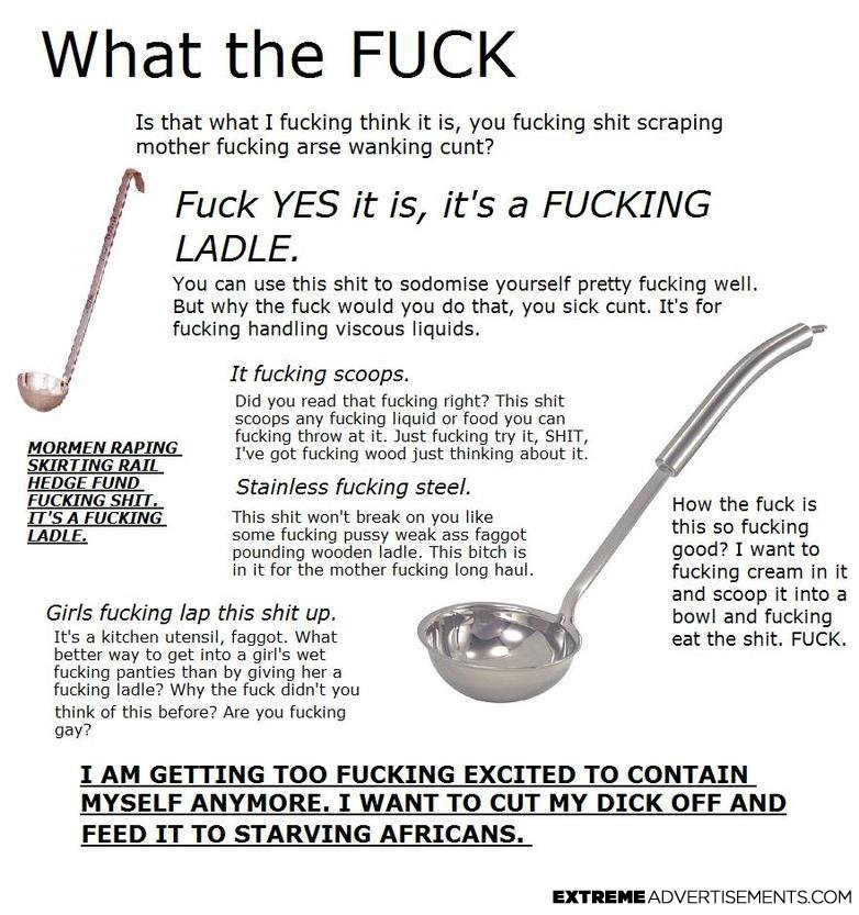The YCM is Down Song Ladle