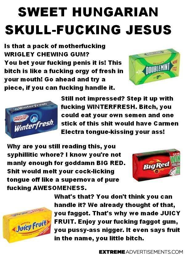 - Gum